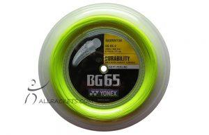 Yonex BG 65 Yellow