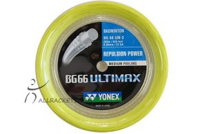 Yonex BG 66 Ultimax Yellow