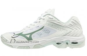 Mizuno Wave Lightning Z5 Women Glacier White
