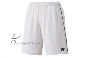 Yonex Mens Shorts Team 15057 White