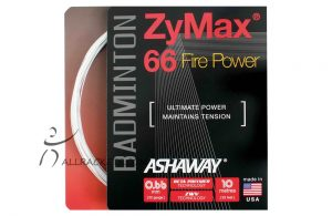 Ashaway Set Zymax 66 Fire Power Set White