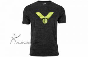 Victor T-shirt Zwart Mélange 6529