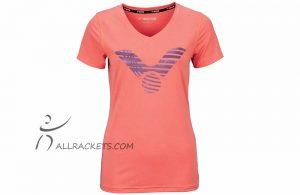 Victor T-shirt Melon Mélange 6529