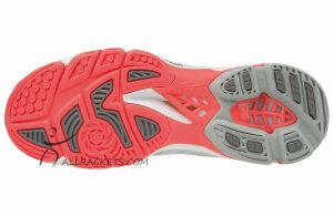 Wave lightning dames white fiery coral s