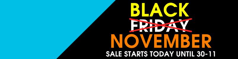 Black November | AllRackets.com