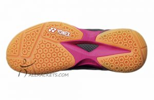 Yonex Power Cushion Comfort Z 2 Ladies Black Pink 1