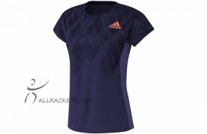Adidas Color Block Tee Lady Indigo f 1
