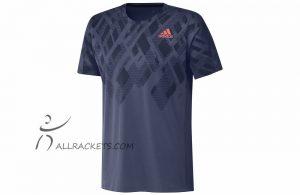 Adidas Color Block Tee Men Indigo f