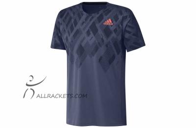 Adidas Color Block Tee Men Indigo