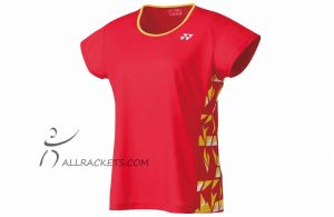 Yonex Tournament Lady T shirt 16442ex Flash Red