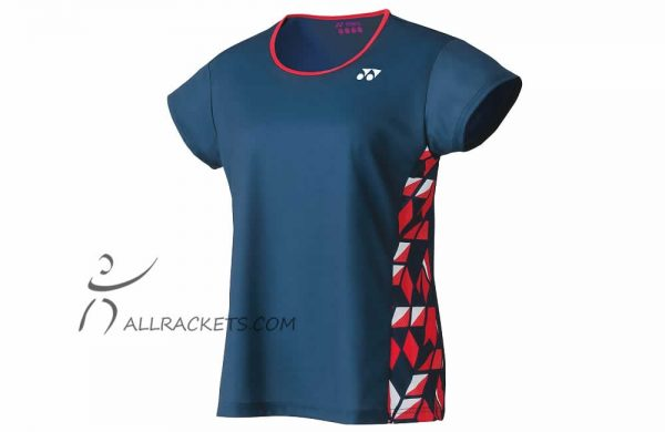 Yonex Tournament Lady T shirt 16442ex Indigo Blue