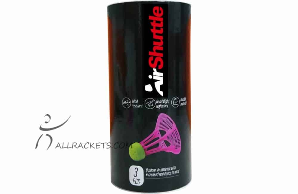 Airbadminton-Airshuttle-tube