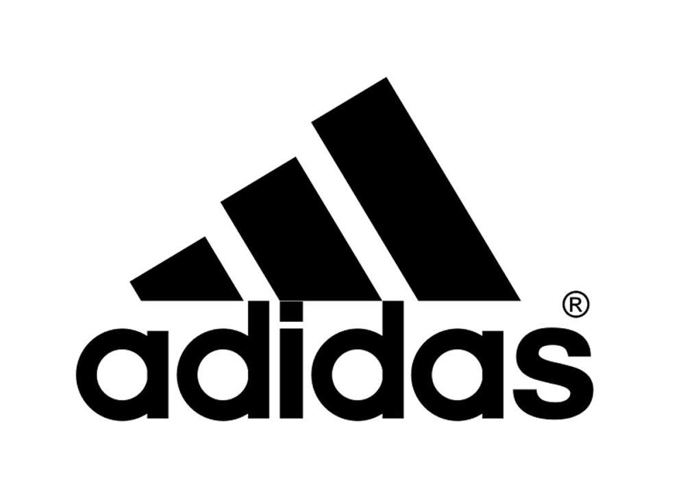 Adidas badminton logo