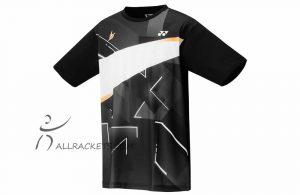 Yonex Mens T shirt 16440ex Lin Dan Black