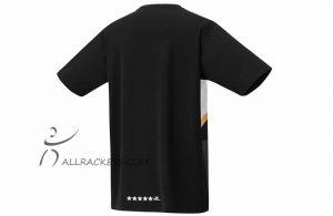 Yonex Mens T shirt 16440ex Lin Dan Black b