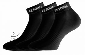 FZ Forza 3-pack Comfort Sock Short Black