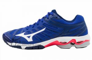 Mizuno Wave Voltage Men Reflex Blue White