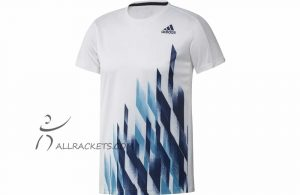 Adidas Graphic Tee M White