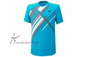 Mizuno Shadow Tee Scuba Blue