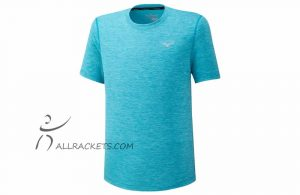 mizuno impulse core tee Scuba Blue