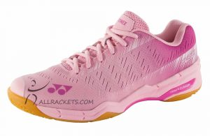 Yonex SHB Aerus X Lady Pastel Pink side