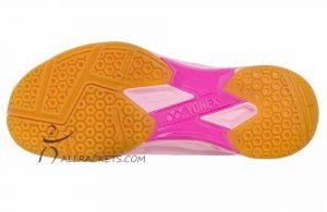 Yonex SHB Aerus X Lady Pastel Pink sole