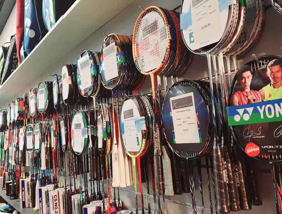 Hoe kies ik een nieuw badminton racket