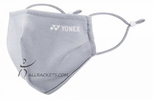 Yonex AC480 Very Cool Face Mask Ice Grey