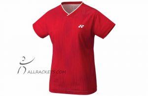 Yonex Ladies Shirt YW0026EX Ruby Red