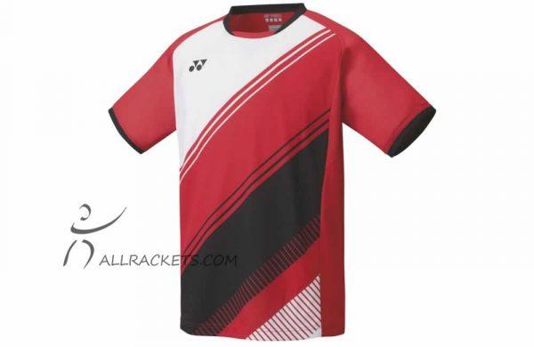 Yonex Mens Shirt 10395EX Ruby Red