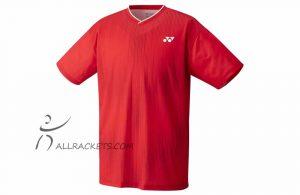 Yonex Mens Shirt YM0026EX Ruby Red
