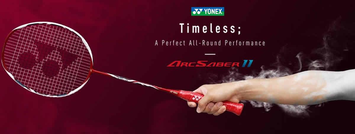 Yonex Arcsaber rackets