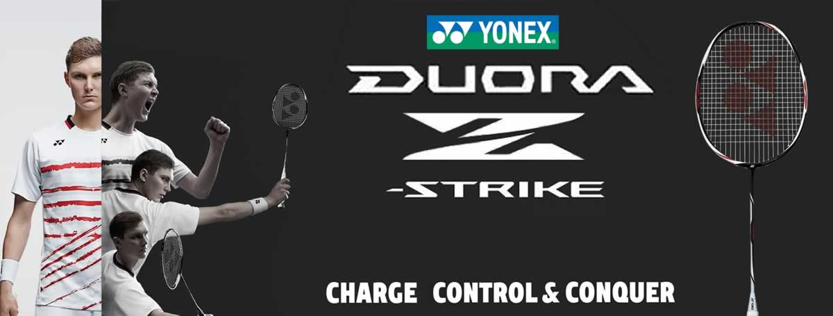 Yonex Duora rackets