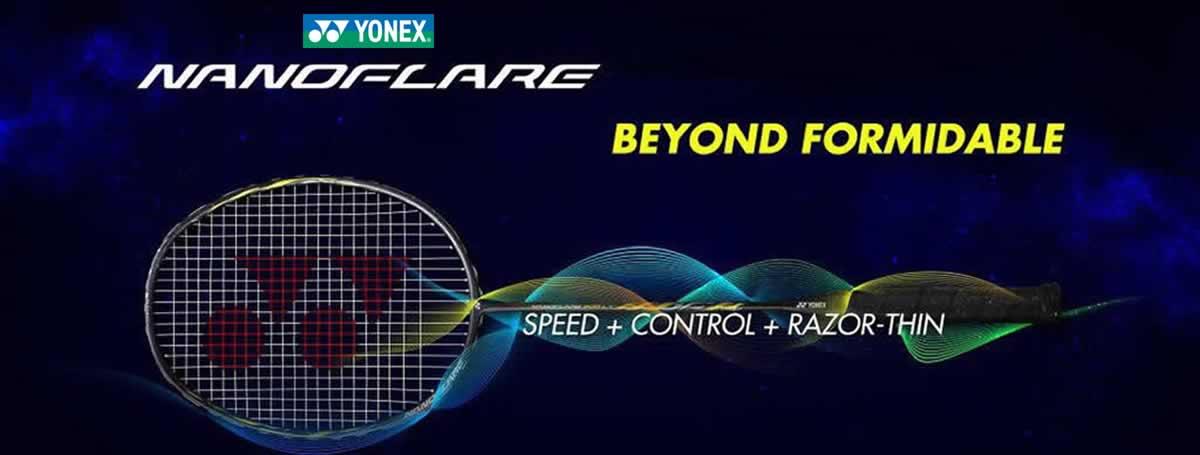 Yonex Nanoflare rackets