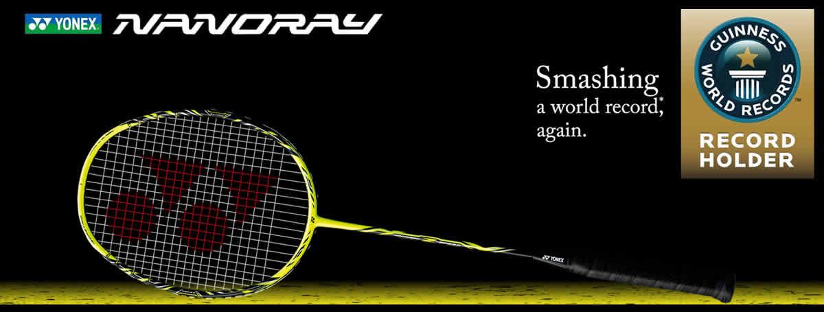 Yonex Nanoray rackets 1