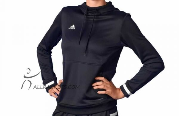 Adidas T19 Hoody W Black 1