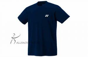 Yonex LT1025ex Logo Training Plain T-Shirt Navy Blue