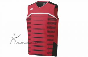 Yonex Mens Sleeveless Shirt 10391EX Red