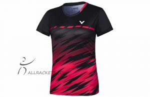 Victor T-Shirt T-11008 C Women Red/Black