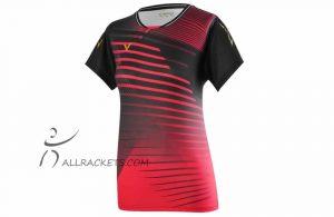Victor T-Shirt T-01001 C Women Red/Black